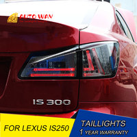Tail light LED rear lights parking IS300 taillights LED taillight case for Lexus IS250 IS300 taillight 2006 2012 Car styling