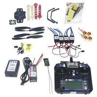 Full Set RC Drone Quadrocopter 4 axis Aircraft Kit F330 MultiCopter Frame MINI CC3D Flight Control Flysky FS i6 TX F02471 F