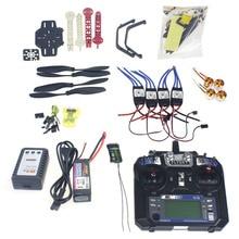 Full Set RC Drone Quadrocopter 4-axis Aircraft Kit F330 MultiCopter Frame MINI CC3D Flight Control Flysky FS-i6 TX F02471-F