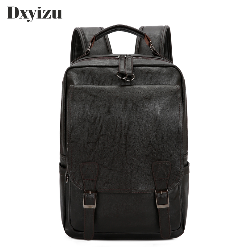 Casual Leosure Solid High Quality Vintage Black Chocolate Soft Genuine Leather Sheepskin Women Men Backpack Male Travel Bags