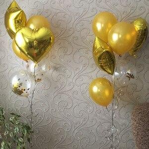 Image 5 - 14 шт. смешанные воздушные шары для детей, товары для дня рождения, украшения стола, единорог, детский душ, для мальчиков и девочек, свадебные украшения для вечеринок