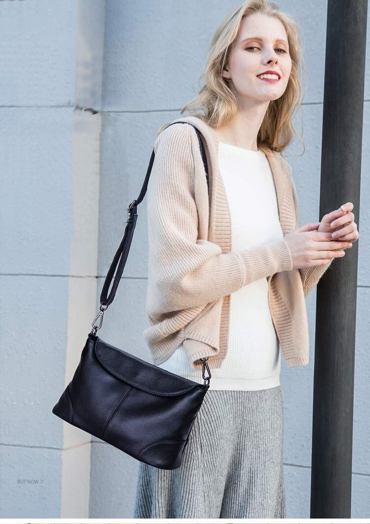 bolsa de ombro de luxo feminino casual