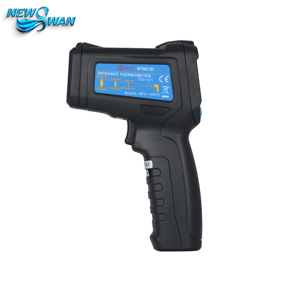 BTM21D Industrial Color Infrared Thermometer  Power Warehouse Inspection Device Non-Contact  Temperature Gun tasi 8606 infrared thermometer 32 380 degrees infrared thermometer non contact thermometer industrial and household