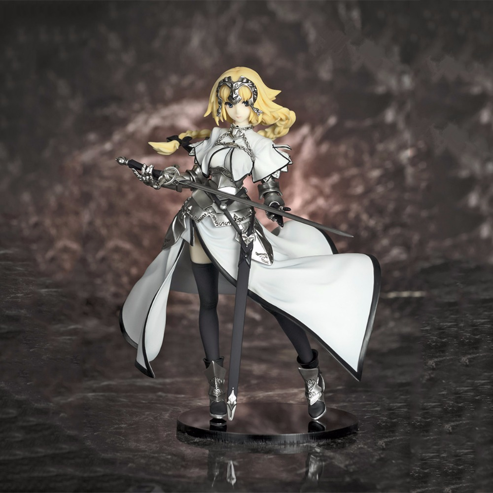 Anime Fate/stay night Jeanne d'Arc Volks PVC 18CM Box-packed Black Alter Action Figure Collectible Model doll Toy HZW064 anime fate stay night saber red armor ver pvc action figure collectible model doll toy 26cm
