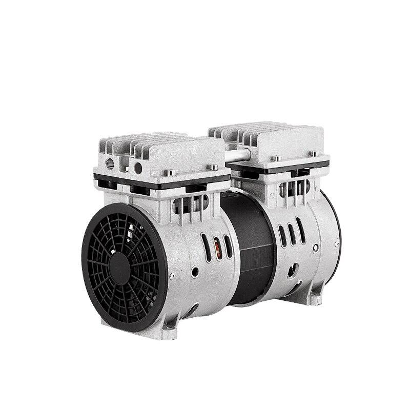 Silent 600W air compressor head silent air pump spray paint woodworking dental accessories air pump pump