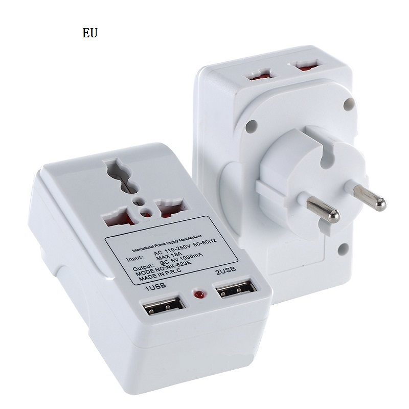 Electric Plug Power Socket Travel Adapter Charger Converter