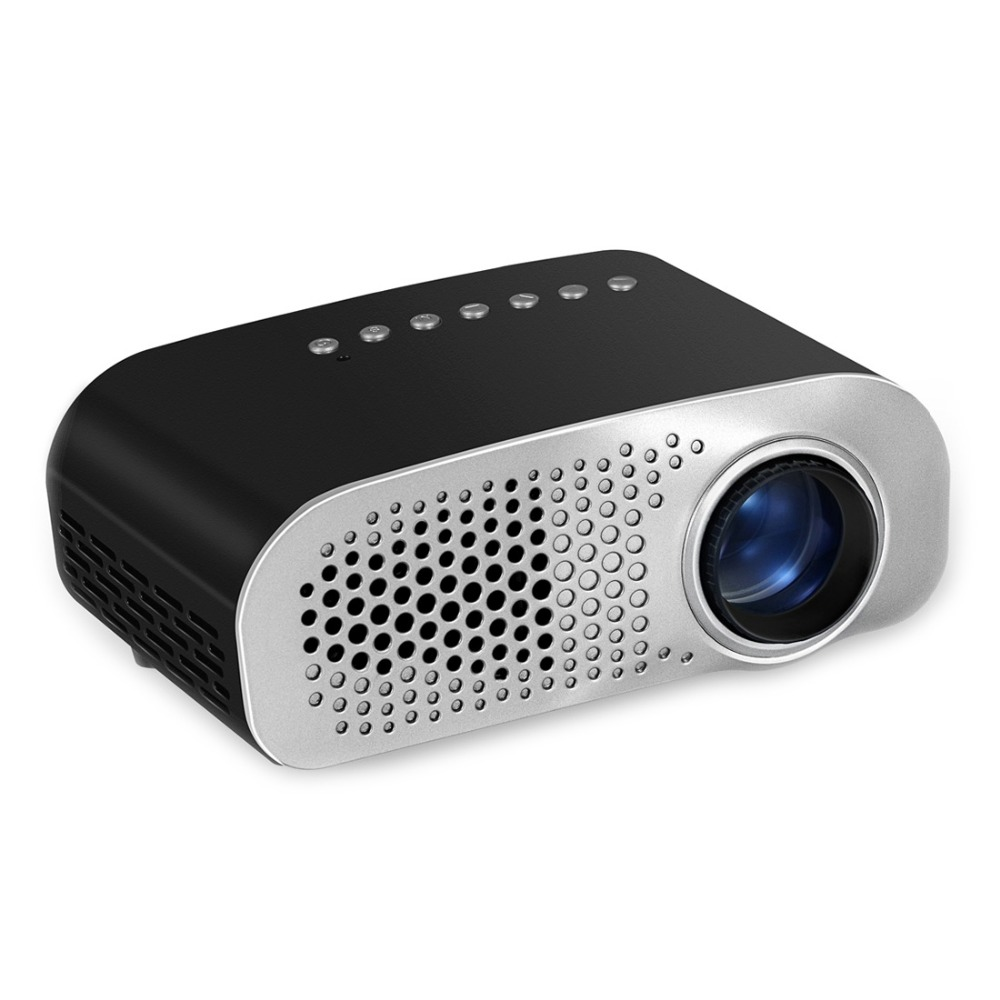 GP802A 100 Lumens Double HDMI HD Mini Projector LCD 480 x 320 Portable LED Projector Home Theater School Projector