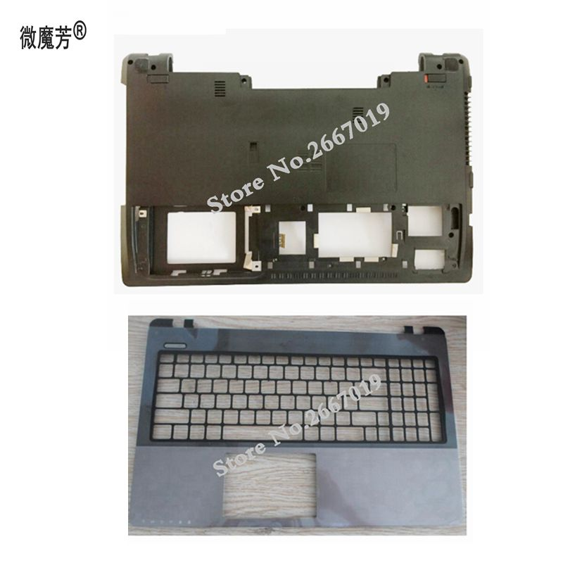 Laptop cover For Asus K55V X55 K55VD A55V A55VD K55 K55VM R500V bottom case Cove/Palmrest Upper Cover laptop shell for asus k55 k55v k55vd a55v k55a x55 u57a x55a top lcd back cover black gray a case