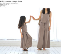 Hot Selling New Summer Spring Mom And Daughter Dress Matching Brands Mother And Daughter Family Clothes