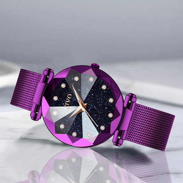Women's Multicolor Alloy Water Resistant Watches