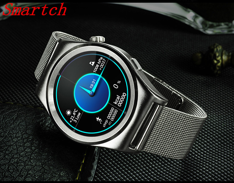 Smartch X10 Smart Watch With LCD HD Full circle Display Smartwatch Bluetooth 4.0 Sleep Monitoring For Android 4.3 & IOS 7.0 other voices full circle cd