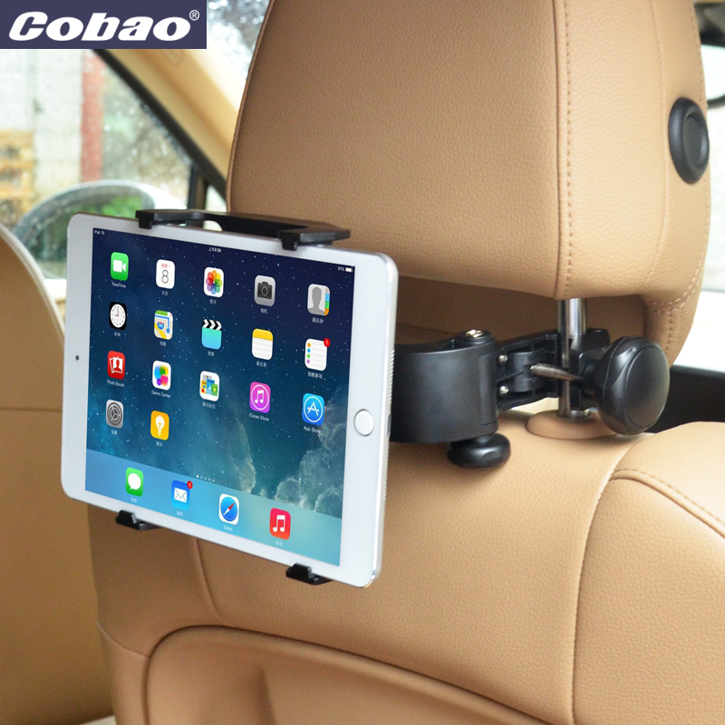 Adjustable Universal Car Back Seat Headrest Mount Tablet PC Stand Holder For iPad 2 3/4/5 AIR SAMSUNG недорого