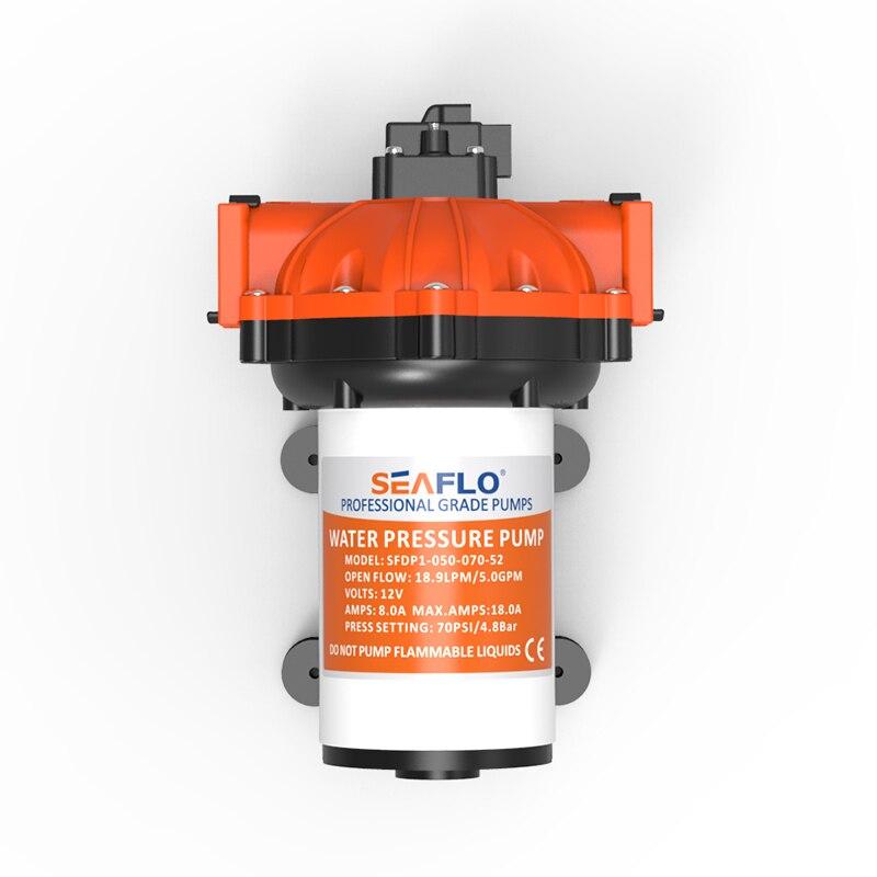 SEAFLO Fácil Conectar Acessórios 70PSI 5GPM 12 V Pressão Da Bomba De Água Caravana Da Agricultura