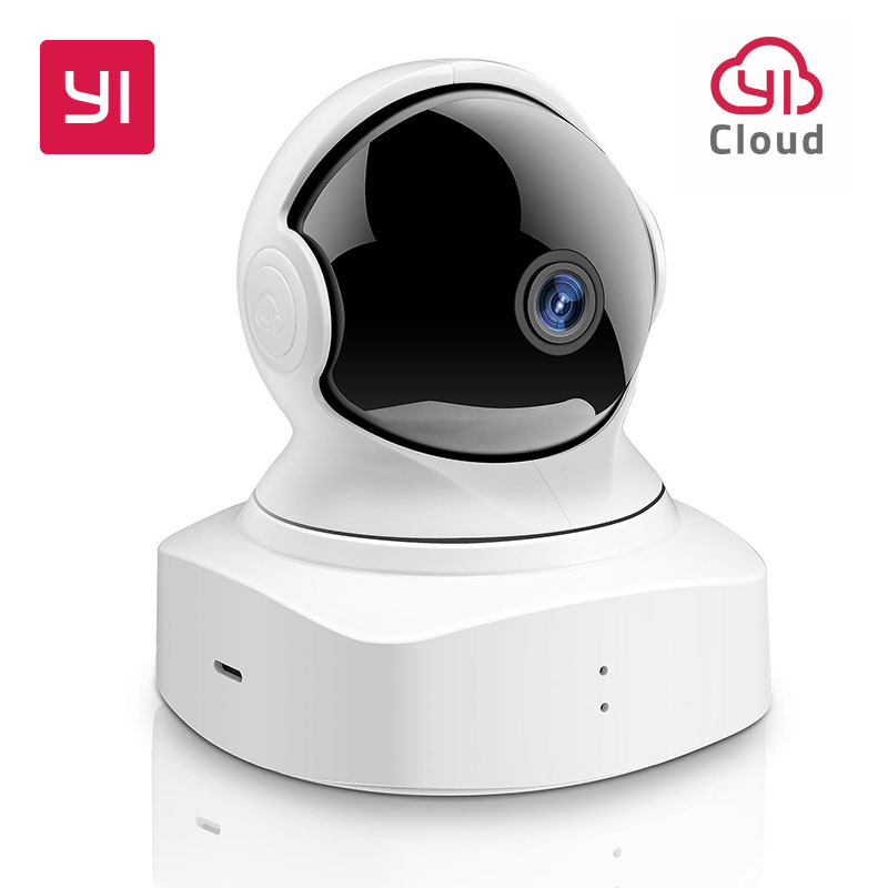 YI Cloud Home Camera Wifi 1080P HD Wireless IP Security Camera Pan/Tilt/Zoom Indoor Surveillance System with Night Vision White