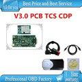 La mejor calidad pcb tcs CDP PRO plus con bluetooth v3.0 cdp pro 2015.1 versión libre activo nuevo vci con NEC relay