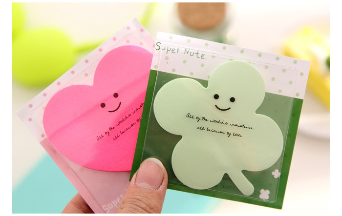 1X NEW ! Choose Types!Cute and Kawai Sticky notes Originality Shape pattern Sticker Post It Bookmark Mark Memo Flag Sticky Notes