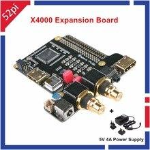 X4000 Expansion Board für Raspberry Pi 1 Modell B +/2 modell B/3 Modell B Und 5 V 4A Power versorgung