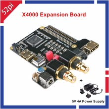 Best Buy X4000 Expansion Board for Raspberry Pi 1 Model B+/ 2 Model B / 3 Model B And 5V 4A Power Supply