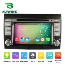 Quad Core 1024*600 Android 5.1 Auto DVD GPS Navigation Player Auto-stereoanlage für Fiat Bravo (2007-2012) Radio 3G Wifi Bluetooth