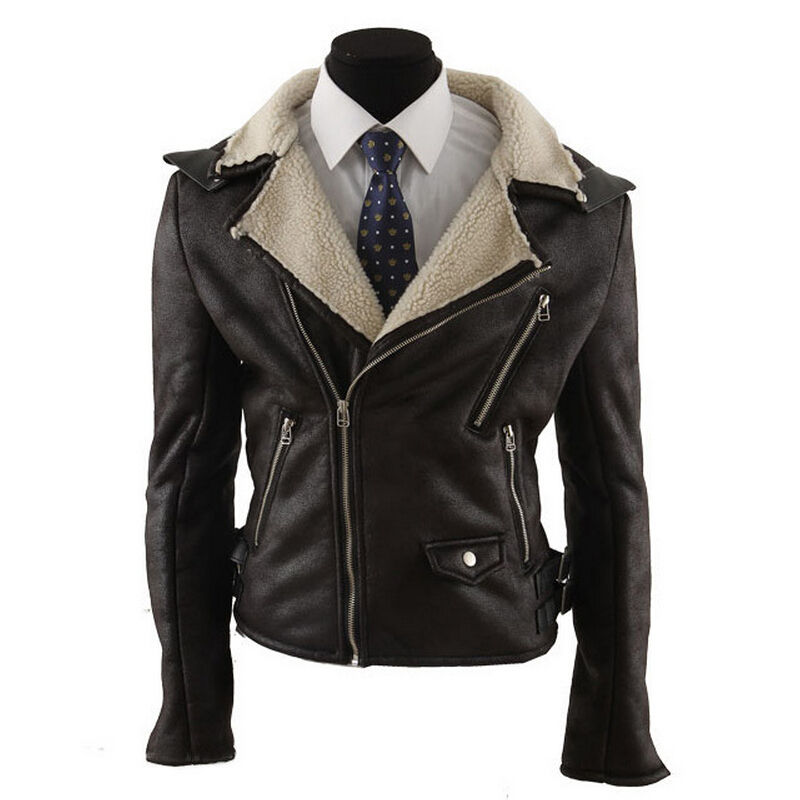 Popular Leather Jacket Brown-Buy Cheap Leather Jacket Brown lots ...