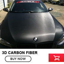 3D Carbon Fibre Vinyl Wrap 3D carbon fibre Wrap black 5x98FT