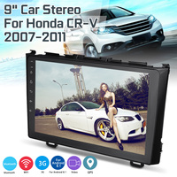 9 for Android 8.1 Car Radio Multimedia Audio Player Navi GPS 2 Din For Honda CRV 2007 2011 Support RCA Connector Rear View Came