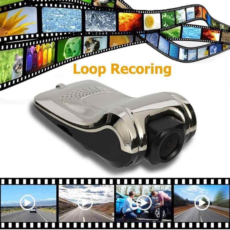 ZW10A DVR para coche con USB cámara grabadora de conducción Auto Dash Cam ADAS para Android reproductor de coche automático lazo grabación de Video Dashcam