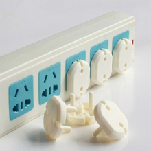 100PCS Euro Standard Children Electrical Safety Protective Socket Cover Cap Two Phase Baby Security  TRQ0136