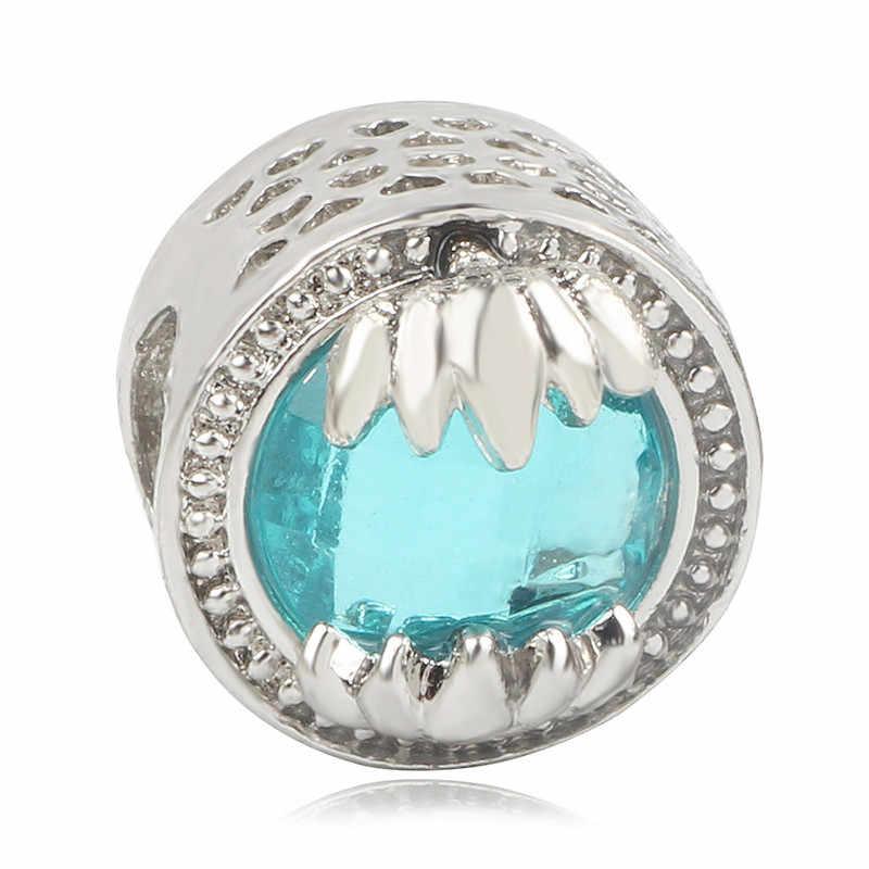 Couqcy 2019 Charme Perlen Persönlichkeit Schmuck Europäischen Geschenk Anhänger Fit Pandora Diy 925 Armband Blume Herz Perlen Für Schmuck