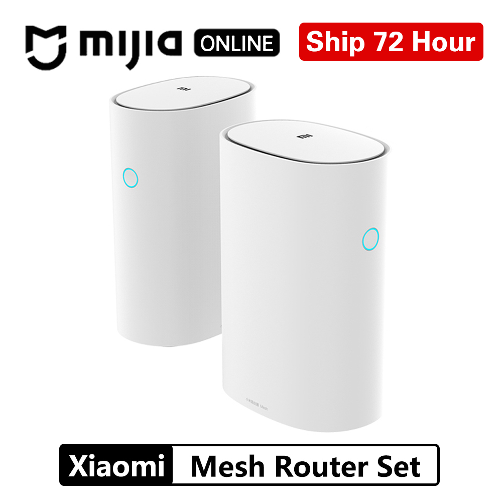 Original Xiaomi Mi WiFi Router Mesh Version 2 4GHz 5GHz High speed 4 core CPU 256MB