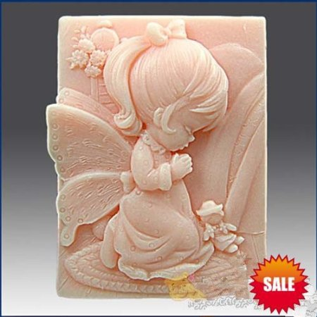 3.3 Praying Angel 50001 Craft Art Silicone Soap mold Craft Molds DIY3.3 Praying Angel 50001 Craft Art Silicone Soap mold Craft Molds DIY