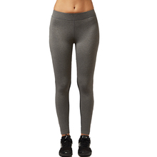 Gray Yoga Pants with Bright Elements