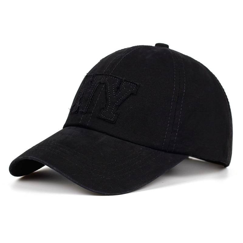 Brand Ny Letter Mens Baseball Cap Casual Dad Cap Women Casquette Homme Snapback Hip Hop Trucker Cap