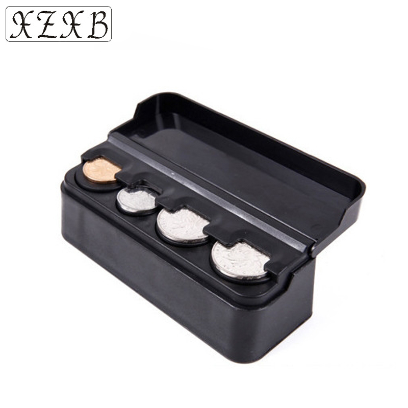 Purse Wallet Coin-Dispenser Pocket Coin-Box Euro Holders Storage Fashion Auto Cases Plasticbox