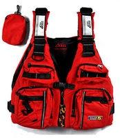 Red Adult Buoyancy Aid Sailing Fishing Kayak Canoeing Life Jacket Vest