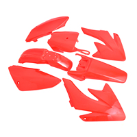 7 Pcs Plastic Fairing Kit Body Frames For Honda CRF70 CRF 70 Pit Bike Motorcycle Accessories Parts
