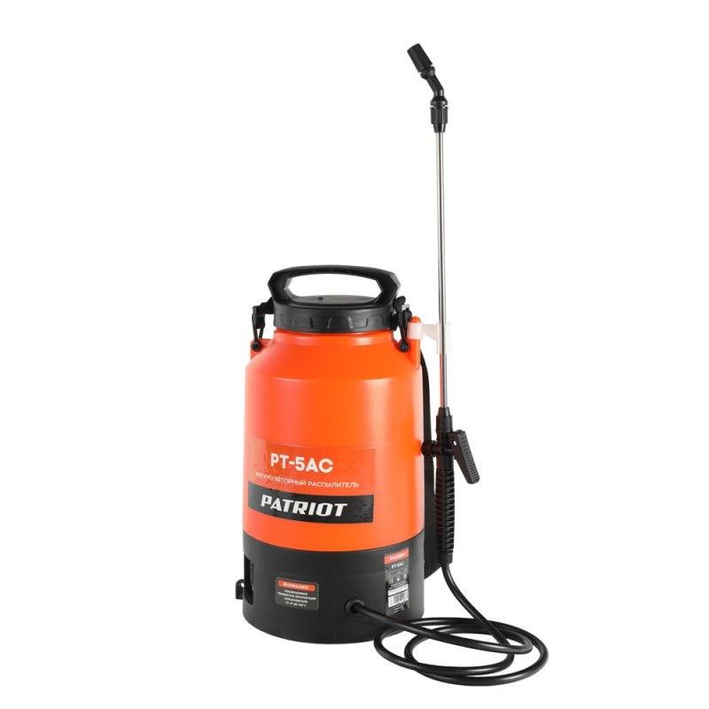 цена на Atomizer battery PATRIOT PT-5AC (Tank 5 L, lead-acid battery 12 V, 1,3 K * H)