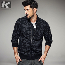 Фотография 2017 Spring Mens Fashion Sweatshirts Print Zipper Black Brand Clothing For Man