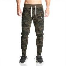 2017 НОВЫЙ штаны мужской вздох бодибилдинг тренировки одежда повседневная камуфляж спортивные штаны бегунов брюки узкие брюки горячие