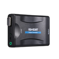 Video Adapter 1080P for TV and Projector VGA to Scart Converter Video Audio Converter VGA to Scart HD Converter Video Converter