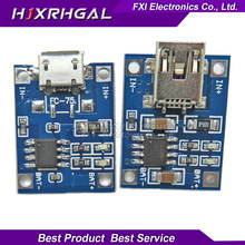 5PCS USB 5V 1A TP4056 Lithium Battery Charger Module Charging Board With Protection Dual Functions 1A Li-ion