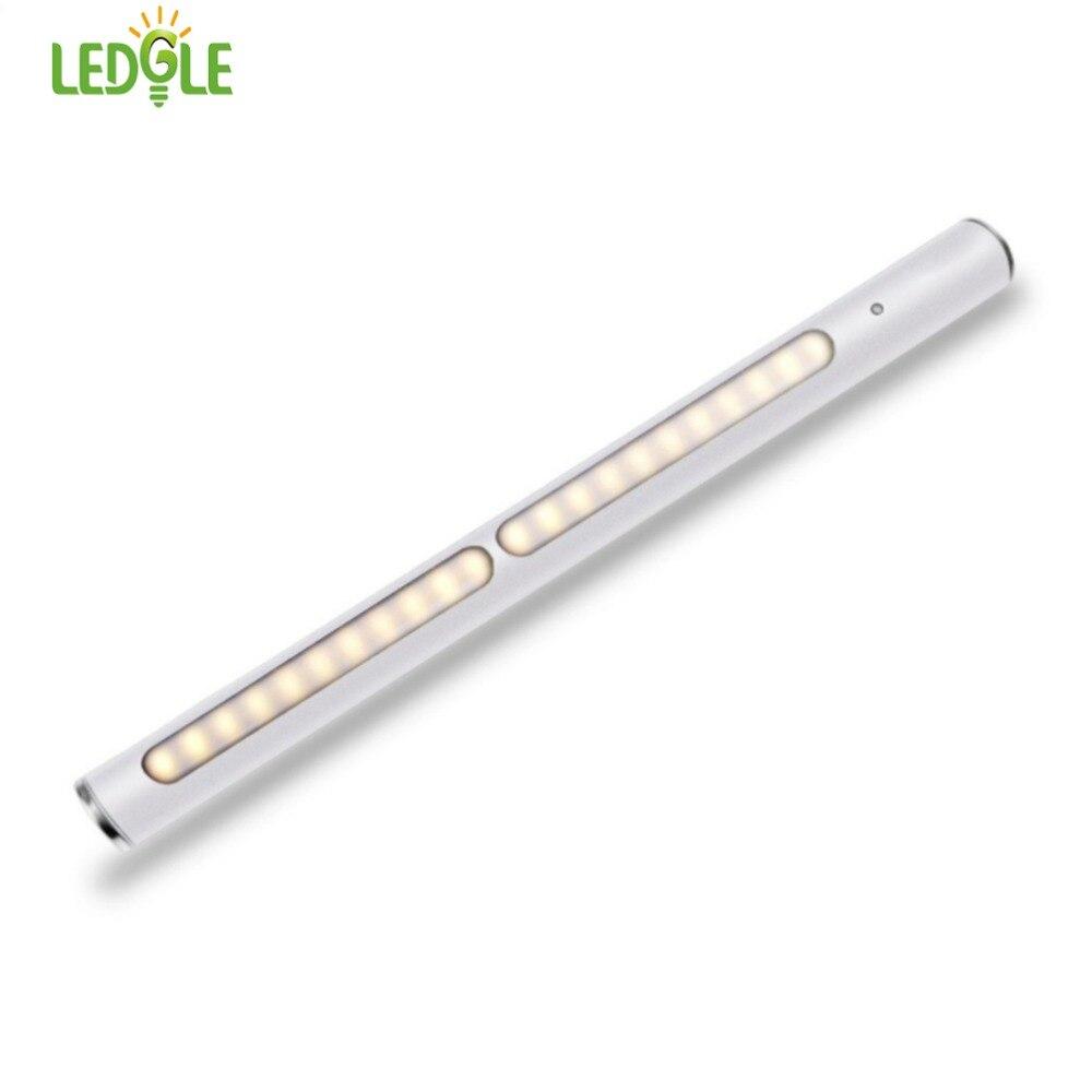 LEDGLE LED Light Bar Compact Closet Light Smart Night Light Corridor Cabinet Led Sensor Light Rechargeable