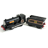 T0233 Electric Thomas And Friend Douglas With A Carriage Track Master Engine Motorized Train Child Plastic