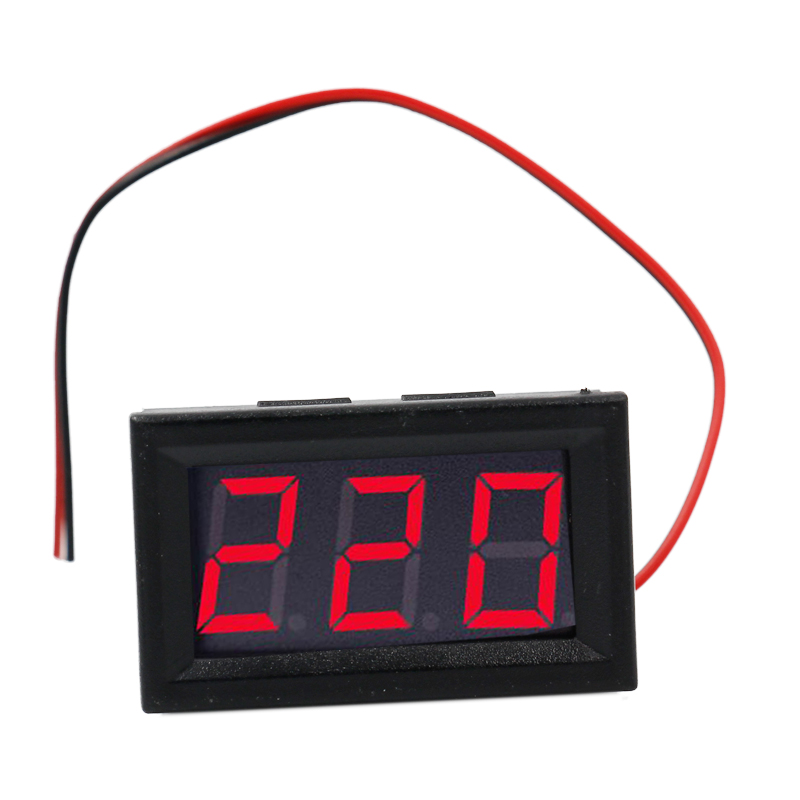 Smart Home Consumer Electronics Cheap Sale 1pc Ac 70-500v Digital Voltmeter 0.56 Inch Led Display Panel 2 Wire Volt Voltage Test Meter Smart Module