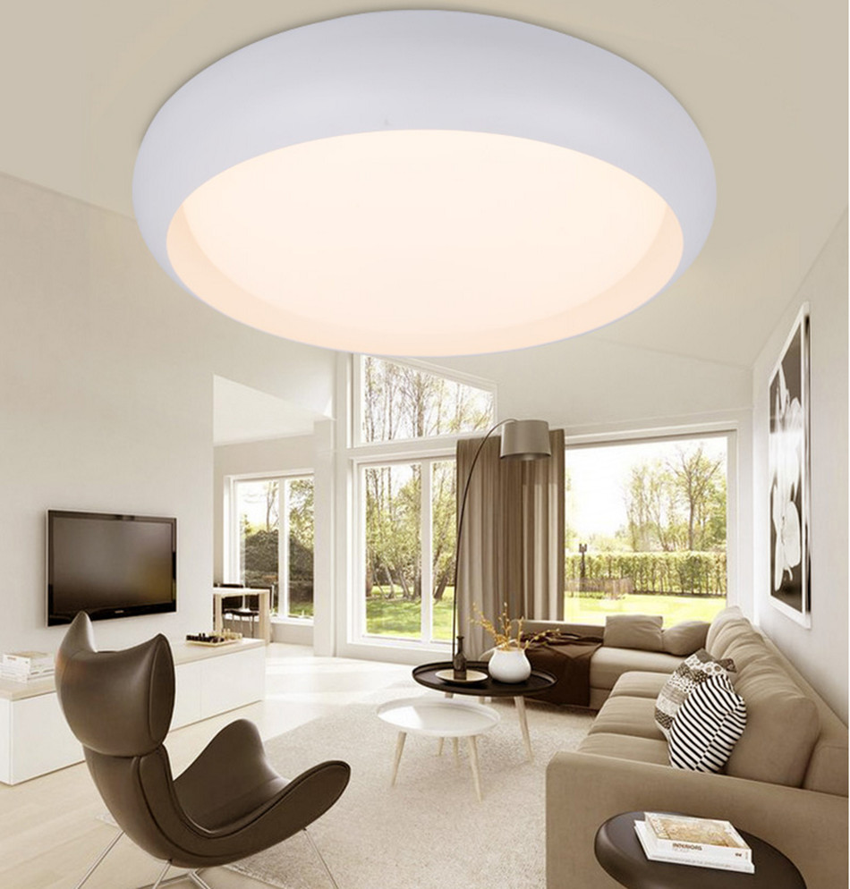 Dimming led round ceiling lamp modern minimalist living room balcony
