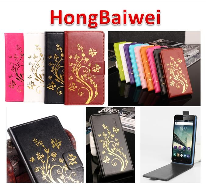 Leather Case for Lenovo Vibe S1 Lite Phone cover Hong Baiwei brand Luxury Magnetic Flip Case
