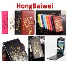 Leather Case для Lenovo Vibe S1 Lite крышка Телефона Hong Baiwei марка Роскошные Магнитных Флип Case для Lenovo Vibe S1 Lite