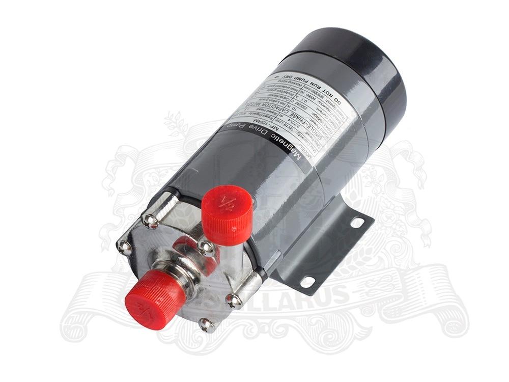 Магнитный привод насоса MP15 с нержавеющей голову 220 В (110 В). Термостойкость 120 C. Соединительная нить 1/2 . Великобритания, США, евро вилка