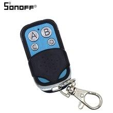 SONOFF 433mhz 4 כפתורים ערוץ RF Wifi אלחוטי מרחוק מפתח למידה עותק 4CH מפתח Fob בקרת עבור גוגל חכם בית בקר