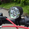 Headlight & Bicycle Light 7000 Lumen 5x CREE XM-L T6 LED Bike Light Lamp Headlamp+ 8.4V 6400mAh Battery Pack +Charger